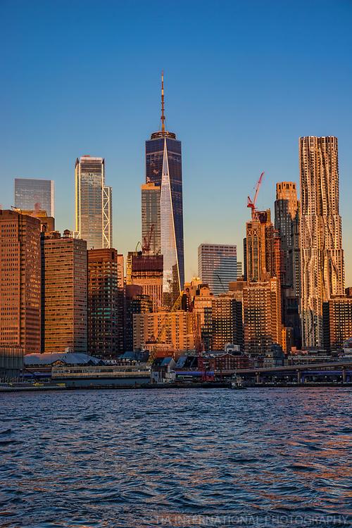 Lower Manhattan Skycrapers