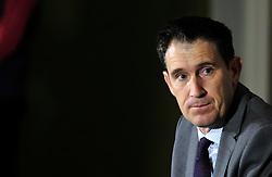 Cricket Australia CEO James Sutherland during the press conference at Radisson Blu Hotel, Bristol.