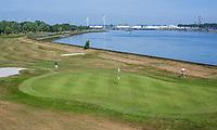 BRIELLE -  hole 11. Kleiburg , golfbaan.  COPYRIGHT KOEN SUYK