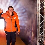 NLD/Amsterdam/20180226 - Thuiskomst TeamNL, Kimberley Bos