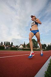 Daneja Grandovec at Athletic National Championship of Slovenia, on July 20, 2008, in Stadium Poljane, Maribor, Slovenia. (Photo by Vid Ponikvar / Sportal Images).
