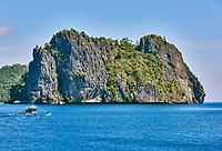Cadlao island islands  El Nido in Palawan in in Philippines