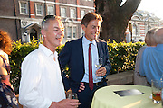 Dan harvey; Ben Bradshaw;  Tate Britain Summer Party 2009. Millbank. London. 29 June 2009