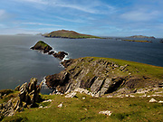 The Blasket Islands viewed from  Slea Head, West of Dingle Town in County Kerry ireland.<br /> Photo: Don MacMonagle - macmonagle.com