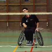 Finale heren rolstoeltennis de Blijkklappers Nederhorst den Berg