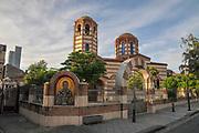 Greek Orthodox St Nicholas Church at Piazza Square in Batumi, Georgia