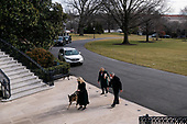 January 25, 2021 (DC): The White House Welcomes The Biden Family Dog's