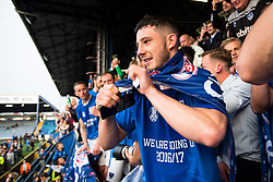 Portsmouth win 6-1 against Cheltenham Town, finishing top of League Two, Portsmouth celebrate, Conor Chaplin of Portsmouth - Mandatory by-line: Jason Brown/JMP - 06/05/2017 - FOOTBALL - Fratton Park - Portsmouth, England - Portsmouth v Cheltenham Town - Sky Bet League Two