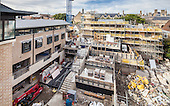 September 2012: Pembroke College Brewer Street Project