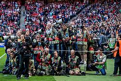 24-05-2017 SWE: Final Europa League AFC Ajax - Manchester United, Stockholm<br /> Finale Europa League tussen Ajax en Manchester United in het Friends Arena te Stockholm / Fotografen, media