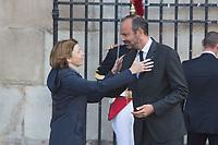 Florence Parly _Edouard Philippe Obsèques de Jacques Chirac Lundi 30 Septembre 2019 église Saint Sulpice Paris