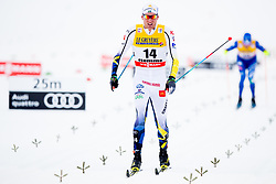 January 6, 2018 - Val Di Fiemme, ITALY - 180106 Daniel Rickardsson of Sweden competes in men's 15km mass start classic technique during Tour de Ski on January 6, 2018 in Val di Fiemme..Photo: Jon Olav Nesvold / BILDBYRN / kod JE / 160123 (Credit Image: © Jon Olav Nesvold/Bildbyran via ZUMA Wire)