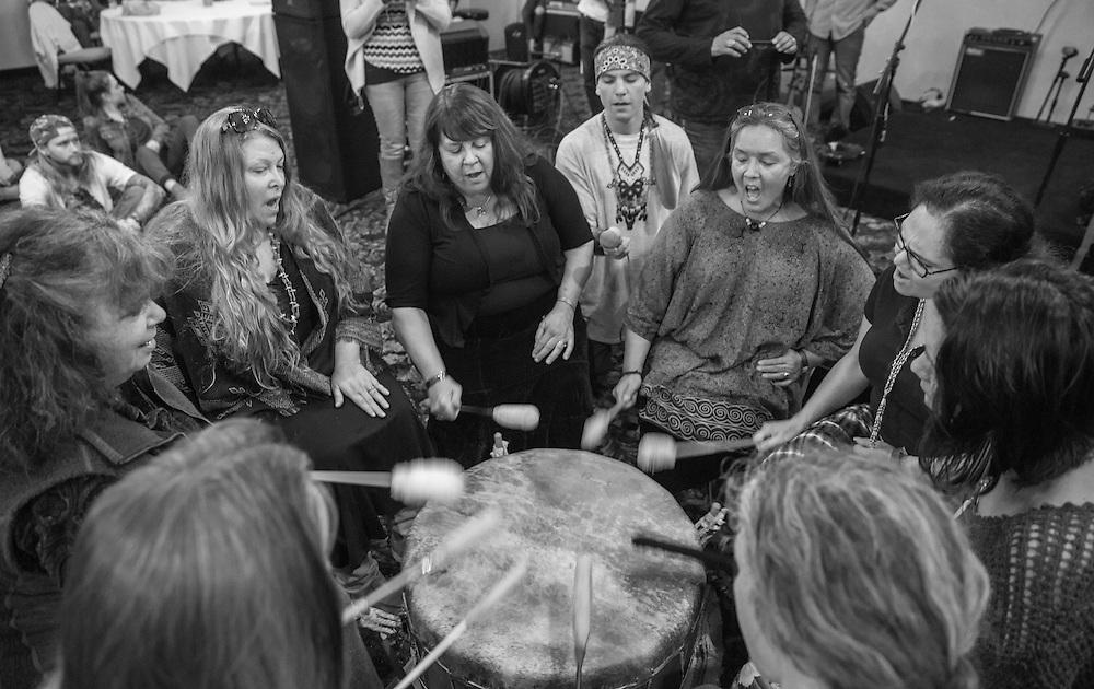 Community event raising money and supplies for those fighting the Dakota Access Pipeline in North Dakota.