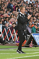 Football - 2018 / 2019 Sky Bet EFL Championship - Swansea City vs. Bristol City<br /> <br /> Swansea City manager Graham Potter on the touchline, at Liberty Stadium.<br /> <br /> COLORSPORT/WINSTON BYNORTH