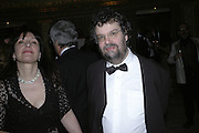 Sandy Welch and Stephen Poliakoff, Cocktail party before the  27th Annual London Film Critics' Circle Awards. In aid of the NSPCC. Dorchester. 8 February 2007.  -DO NOT ARCHIVE-© Copyright Photograph by Dafydd Jones. 248 Clapham Rd. London SW9 0PZ. Tel 0207 820 0771. www.dafjones.com.