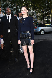 MacKenzie Foy arriving at the Vogue Party hosted during the Haute Couture Fashion Week in Paris, France on July 3rd, 2018. Photo by Clement Prioli/ABACAPRESS.COM