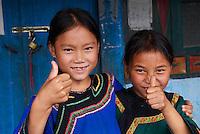Chine. Province du Guizhou. Village Miao de'Ä®Biasha. // China. Guizhou province. Miao village of Biasha.