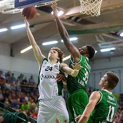 20140522: SLO, Basketball - Final of Telemach League 2013/14, KK Krka vs KK Union Olimpija