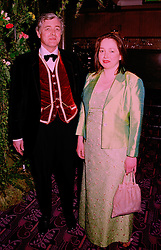 LORD SUDELEY and MRS MARGARITA KELLETT at a ball in London on 16th April 1998.MGR 24