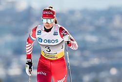 March 10, 2019 - Oslo, NORWAY - 190310 Natalia Nepryaeva of Russia competes in the women's 30 km classic technique mass start during the FIS World Cup on March 10, 2019 in Oslo..Photo: Jon Olav Nesvold / BILDBYRÃ…N / kod JE / 160424 (Credit Image: © Jon Olav Nesvold/Bildbyran via ZUMA Press)