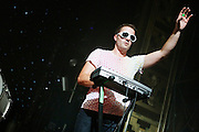 The Ting Tings perform the last show of their US Tour at Webster Hall in New York City on Novermber 1, 2008