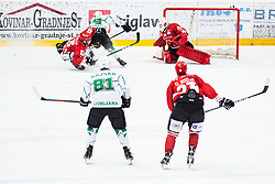 Ziga KOGOVSEK during Alps League Ice Hockey match between HDD SIJ Jesenice and HK SZ Olimpija on March 2, 2020 in Ice Arena Podmezakla, Jesenice, Slovenia. Photo by Peter Podobnik / Sportida