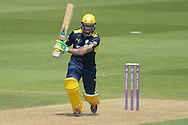 Hampshire all-rounder Gareth Andrew during the Royal London One Day Cup match between Hampshire County Cricket Club and Essex County Cricket Club at the Ageas Bowl, Southampton, United Kingdom on 5 June 2016. Photo by David Vokes.