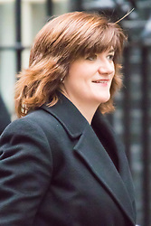 Downing Street, London, November 24th 2015. Education Secretary Nicky Morgan arrives at Downing Street for the weekly cabinet meeting. ///FOR LICENCING CONTACT: paul@pauldaveycreative.co.uk TEL:+44 (0) 7966 016 296 or +44 (0) 20 8969 6875. ©2015 Paul R Davey. All rights reserved.