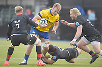 Rugby Union - 2019 / 2020 Gallagher Premiership - Round 22 - Saracens vs Bath - Allianz Park<br /> <br /> Bath Rugby's Josh McNally in action during this afternoon's game.<br /> <br /> COLORSPORT/ASHLEY WESTERN