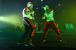 The Prodigy performing live on stage at Brixton O2 Academy in London. Photo date: Thursday, December 21, 2017. Photo credit should read: Richard Gray/EMPICS Entertainment