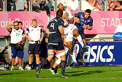 September 24, 2017 - Paris, France - The RCT Wing Jon-Paul Pietersen in action during The French Rugby Championship Top14 Stade Francais vs Rugby Club Toulonnais at The Jean Bouin Stadium in Paris - France.RCT won 15-19 (Credit Image: © Pierre Stevenin via ZUMA Wire)