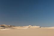 Sand dunes in the Sahara Desert near the Siwa Oasis, Egypt