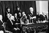 1974 - Inaugeration As President Of Cearbhall O'Dalaigh