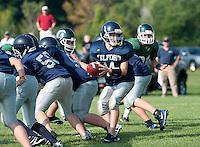 Silver Hawks football versus Pembroke September 4, 2010.
