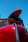 Red Ford Classic Car