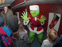 Opening night for 2013 Christmas Village at Laconia Community Center Thursday, December 5, 2013.  Karen Bobotas/for the Laconia Daily Sun