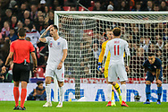 Lewis Dunk (England) during the international Friendly match between England and USA at Wembley Stadium, London, England on 15 November 2018.