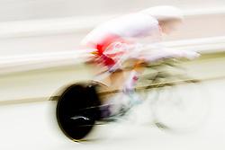 September 19, 2017 - Bergen, NORWAY - 170919 Aurela Nerlo of Poland competes during the Women Elite Individual Time Trial on September 19, 2017 in Bergen..Photo: Vegard Wivestad GrÂ¿tt / BILDBYRN / kod VG / 170017 (Credit Image: © Vegard Wivestad Gr¯Tt/Bildbyran via ZUMA Wire)