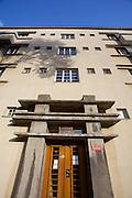 Vienna, Karl-Marx-Hof. Art deco entrance.