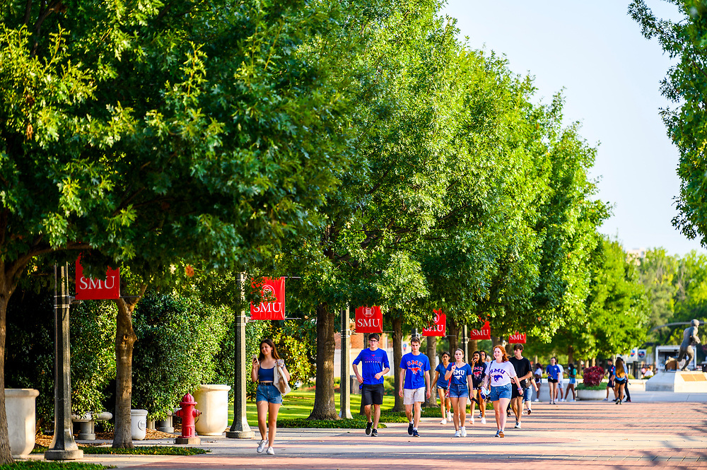 First year students attend Stampede Kick-Off, Thursday, August 19, 2021 in Moody Coliseum on the SMU Campus.