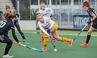 AMSTELVEEN - Sanne Koolen (DenBosch)  tijdens  de hoofdklasse hockey competitiewedstrijd dames, Amsterdam-Den Bosch (0-1)  COPYRIGHT KOEN SUYK