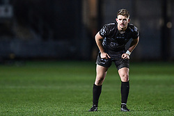 Arwel Robson of Dragons<br /> <br /> Photographer Craig Thomas/Replay Images<br /> <br /> Guinness PRO14 Round 7 - Dragons v Zebre - Saturday 30th November 2019 - Rodney Parade - Newport<br /> <br /> World Copyright © Replay Images . All rights reserved. info@replayimages.co.uk - http://replayimages.co.uk