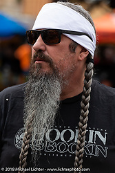 Jack Schit at the Iron Horse Saloon during the 78th annual Sturgis Motorcycle Rally. Sturgis, SD. USA. Sunday August 5, 2018. Photography ©2018 Michael Lichter.
