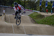 #140 (THERKELSEN Jimmi) DEN at the 2016 UCI BMX Supercross World Cup in Papendal, The Netherlands.