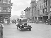 9969-0524. Evening traffic on East Burnside St., Portland, Oregon. July 2, 1931.