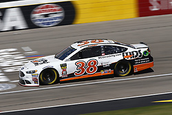 September 14, 2018 - Las Vegas, Nevada, United States of America - David Ragan (38) brings his race car down the front stretch during practice for the South Point 400 at Las Vegas Motor Speedway in Las Vegas, Nevada. (Credit Image: © Chris Owens Asp Inc/ASP via ZUMA Wire)