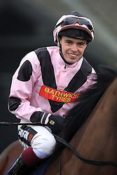 Jockey Andrew Mullen prior to his ride on Log Off in the 32redsport.com Maiden Auction Stakes