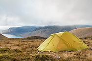 Wildcamp at Hollowstones, overlooking Wastwater