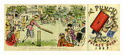 Punch Pocket Book for 1869. The Ladies Cricket Club - Matches to come.