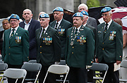 08/07/2018  repro  free:  Ex-servicemen at  The National Day of Commemoration Ceremony at NUI Galway in honour of all those Irishmen and Irish Women who served in past wars or on Service with the UN.Photo:Andrew Downes, XPOSURE